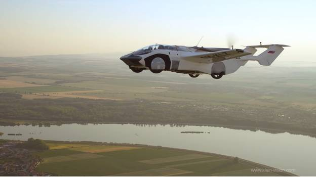 Flying Car Successfully Completes First Inter-City Flight