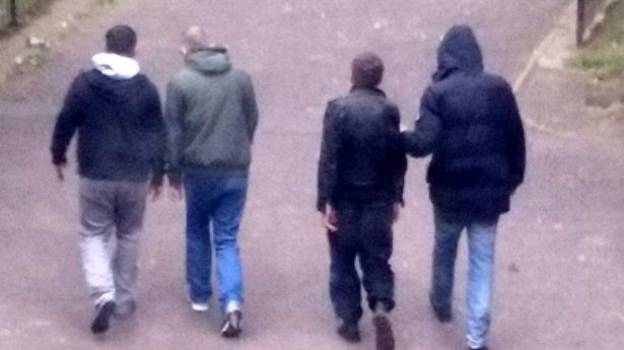 Images Show Busker Frogmarched By Drug Dealers Before Being Tortured And Murdered