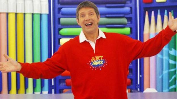 Art Attack's Neil Buchanan Had To Deny Claims That He Was Banksy