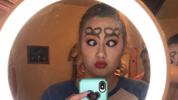 People Are Turning Their Eyebrows Into Bows In New Trend