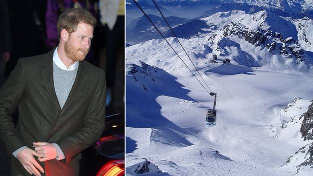 People Reckon Royal Staff Are Scouting A Swiss Ski Resort For Harry's Stag-Do