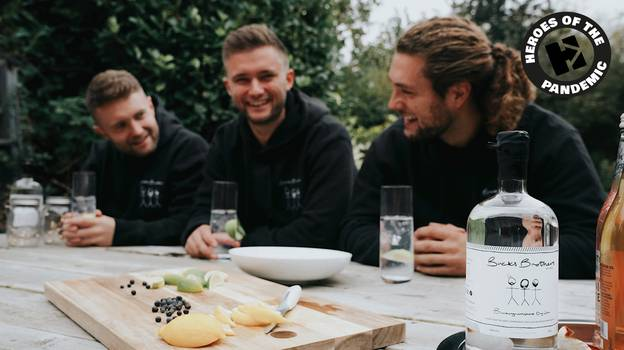 Brothers Make Almost £50,000 After Launching Gin Company In Lockdown