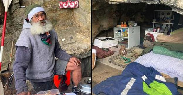 Millionaires Try To Evict Homeless Man From Cave He's Slept In For 18 Months