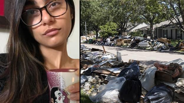 Mia Khalifa Donates Monthly Salary To Hurricane Harvey Relief Effort