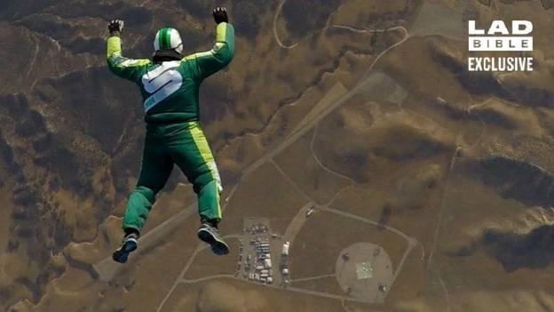 Luke Aikins On Moment Of Panic During Historic 25,000ft Jump Without Parachute