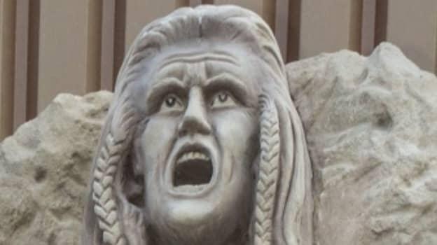 Brechin City Unveil Bizarre Mel Gibson Braveheart Statue Outside Stadium