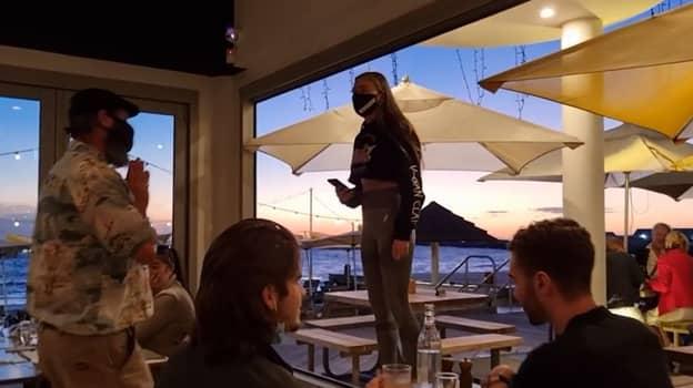 Vegan Activist Calls Fish Eaters 'Animal Abusers' In Seafood Restaurant Rant