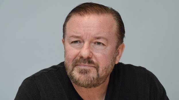 Ricky Gervais Scared He'll Be Wheelchair-Bound After Suffering From Back Problems