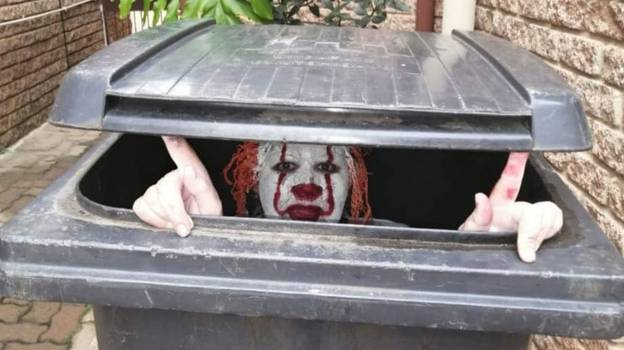 Mum Plays Terrifying Pennywise Prank On Son After He Refuses To Make Her A Coffee