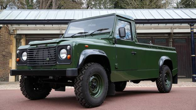 First Look At Prince Philip's Custom Land Rover Hearse He Will Be Carried To Funeral In