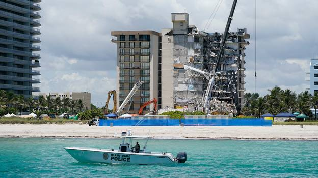 Miami Firefighter Finds Own Daughter In Champlain Towers Wreckage