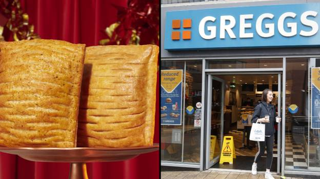 Greggs Announces The Festive Bake Is Back In Three Weeks