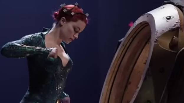 Amber Heard Shown In New Aquaman And The Lost Kingdom Footage