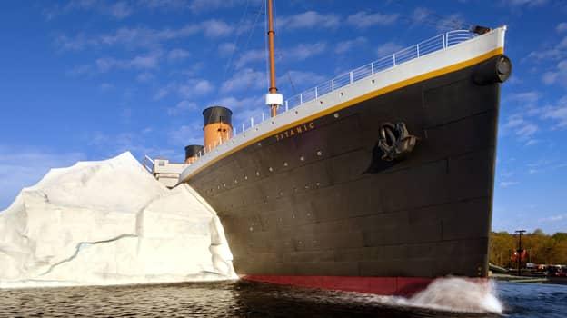 Titanic Museum Iceberg Wall Collapse Hospitalises Three Visitors