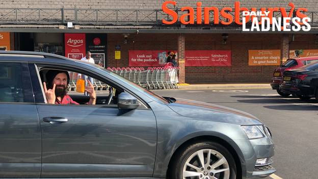 Man Completes Six-Year Mission To Park In All 211 Spaces At Local Sainsbury's