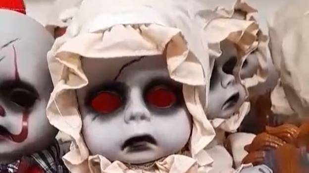Asda Shoppers Shocked By Super Creepy Halloween Decorations