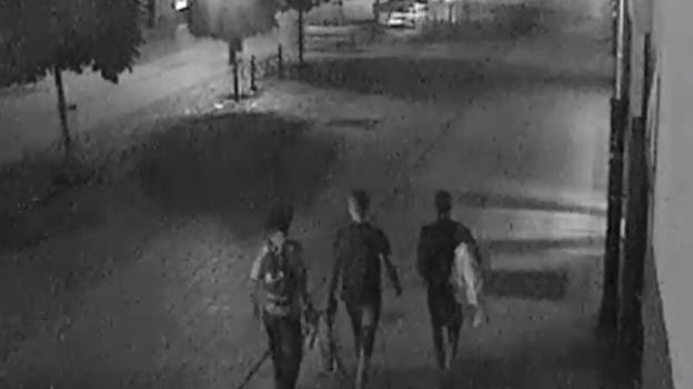 Three Boys Spotted On CCTV Selflessly Helping Homeless Person