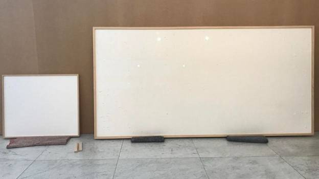 Artist Loaned $84,000 By Museum Returns Two Completely Blank Canvases