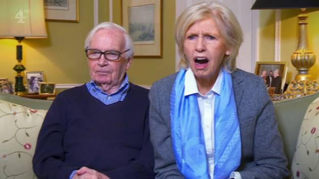 Gogglebox's Beryl Makes 'Posh Woman Sex Noises' Watching Britain's Got Talent