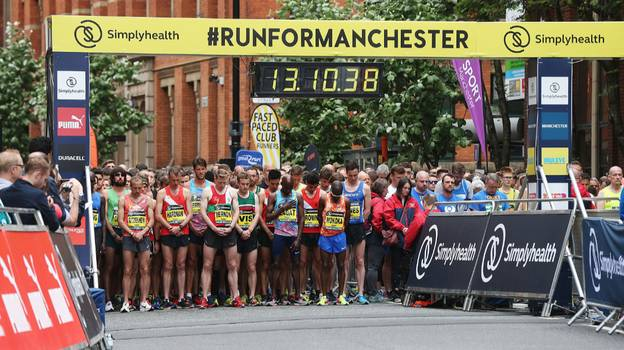 Minute's Silence To Be Held At Great Manchester Run To Honour Terror Attack Victims