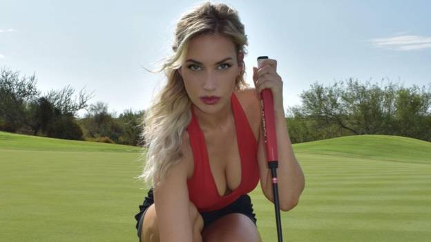 Paige Spiranac Says Men Use Binoculars To Watch Her At Golf Course