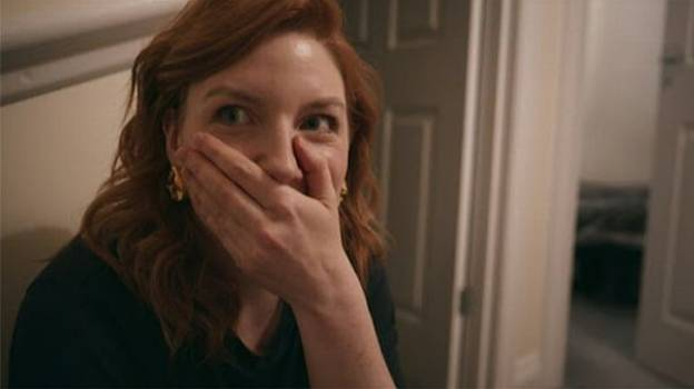 TV Presenter Mortified As She Hears Webcam Model Masturbating Behind Door