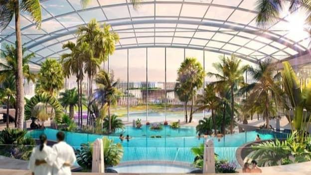 UK's Biggest Indoor Waterpark Set To Boast 25 Pools And 35 Slides