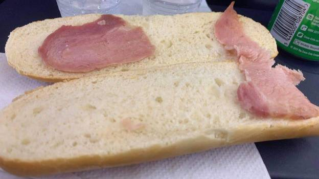Woman Sold The 'World's Saddest' Bacon Sandwich On Ryanair Flight