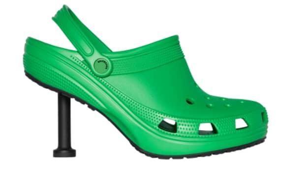 Balenciaga Teams Up With Crocs To Create Stiletto Clogs