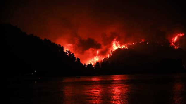 Horrific Footage Of Greek Wildfires Compared To A Disaster Movie