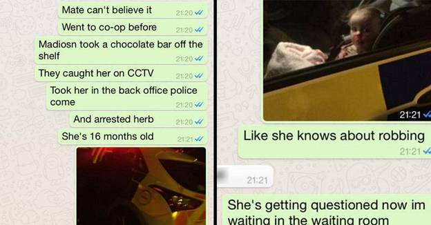 Hilarious Wind-Up Sees Parent Claim Their 16-Month-Old Kid Is Arrested