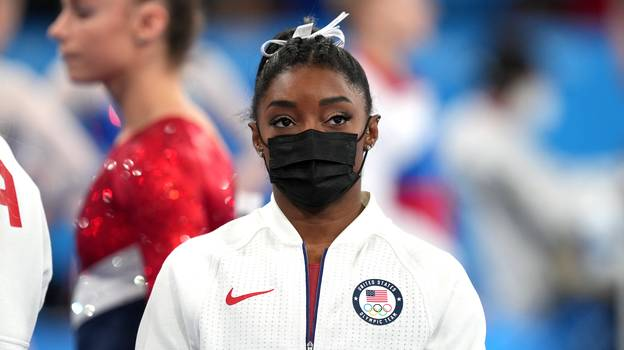 Simone Biles Withdraws From Olympic Individual All-Around Final Because Of Mental Health Issues