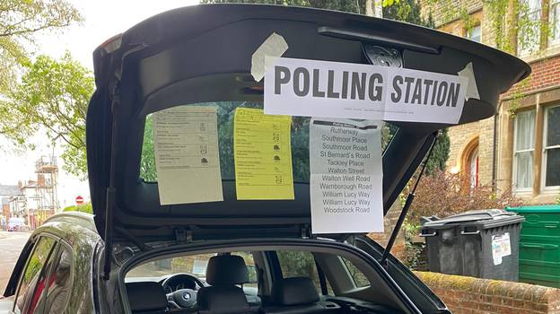 Polling Booth Set Up In Car Boot After Church Warden 'Oversleeps'