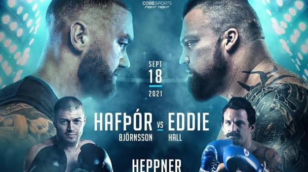 Eddie Hall Announces Date For Fight With Hafþór 'The Mountain' Björnsson