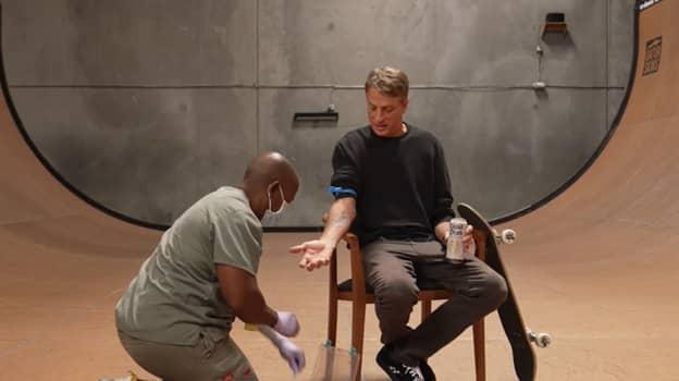 Company Creates Skateboards Infused With Tony Hawk's Blood