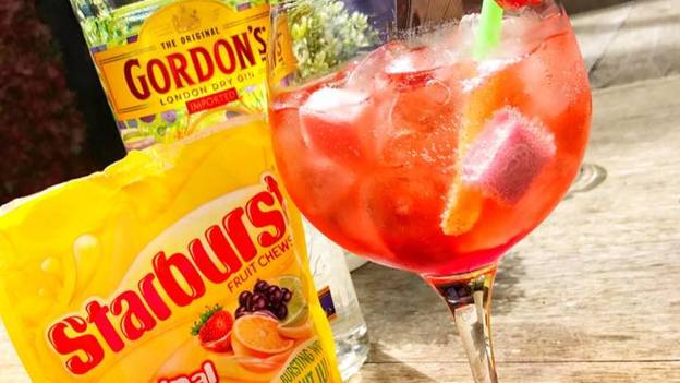 This Bar Has Created Cocktails Made From Fruity Starburst Infused Gin