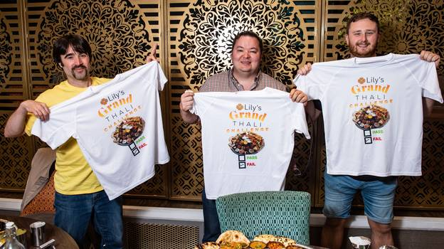Curry House Challenges Diners To Eat Mammoth 7kg Meal In An Hour