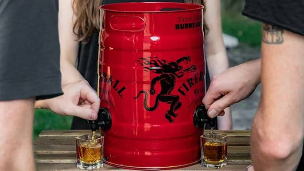 Fireball Is Selling Kegs Containing 115 Shots Of Whisky