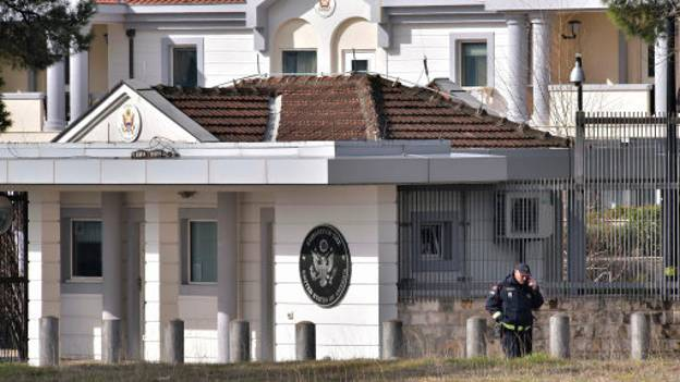 Man Attacks United States Embassy In Montenegro With Grenade