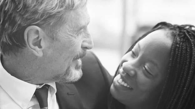 John McAfee's Wife Shares Her Husband's 'Suspect' Suicide Note
