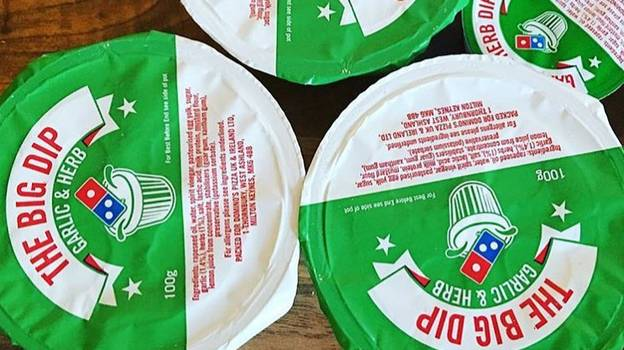 The Big Garlic And Herb Dip From Domino's Contains More Calories Than Two McDonald's Cheeseburgers