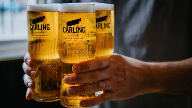 Carling Is The Most Sold Lager In UK Pubs