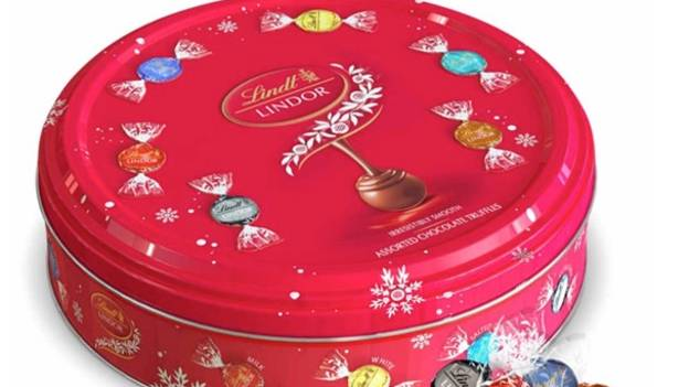 You Can Now Buy A Massive Tin Of Lindor Chocolates