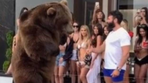 Dan Bilzerian Gets Slammed For Feeding Bear At His 4/20 Party