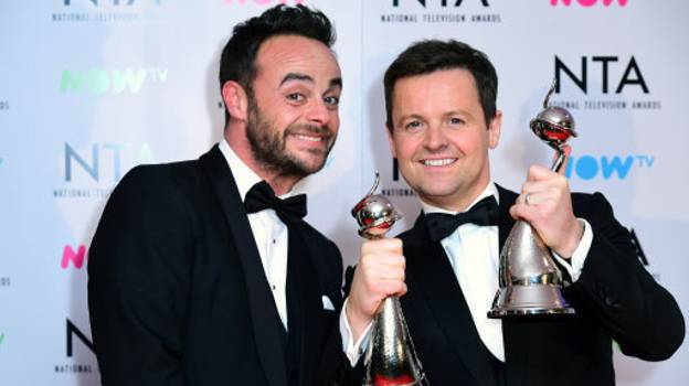Ant McPartlin Wishes Good Luck To Declan Donnelly And Holly Willoughby
