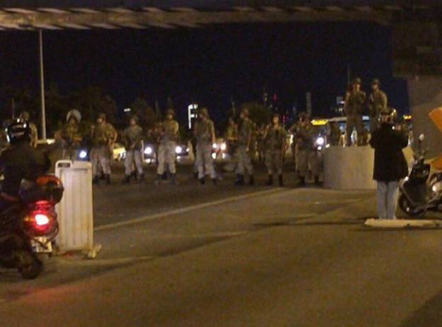 The Prime Minister Of Turkey Says A Military Coup Is Currently In Action