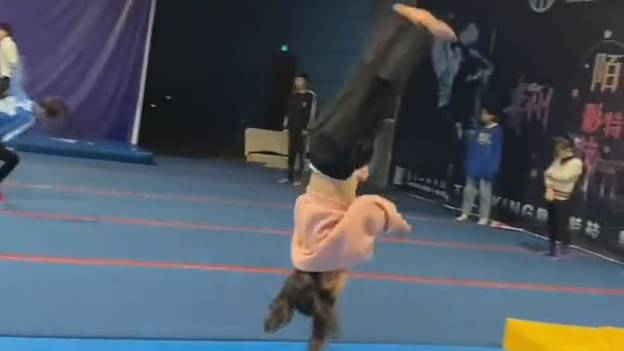 Incredible Video Shows Young Girl Smash Five Backflips In A Row