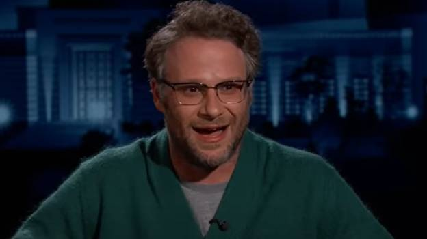 Viewers Think Seth Rogen Was 'Clearly High As F***' On Jimmy Kimmel
