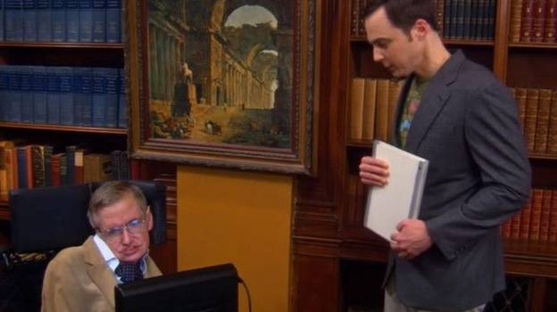 'The Big Bang Theory' Paid Tribute To Stephen Hawking In Unaired Clip