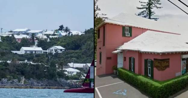 Why Every House In Bermuda Has A White Roof
